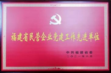 """超大党委荣获""""福建省民营企业党建工作先进单位""""荣誉称号"""