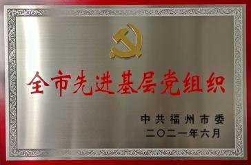 """超大集团党委获""""全市先进基层党组织""""荣誉称号"""