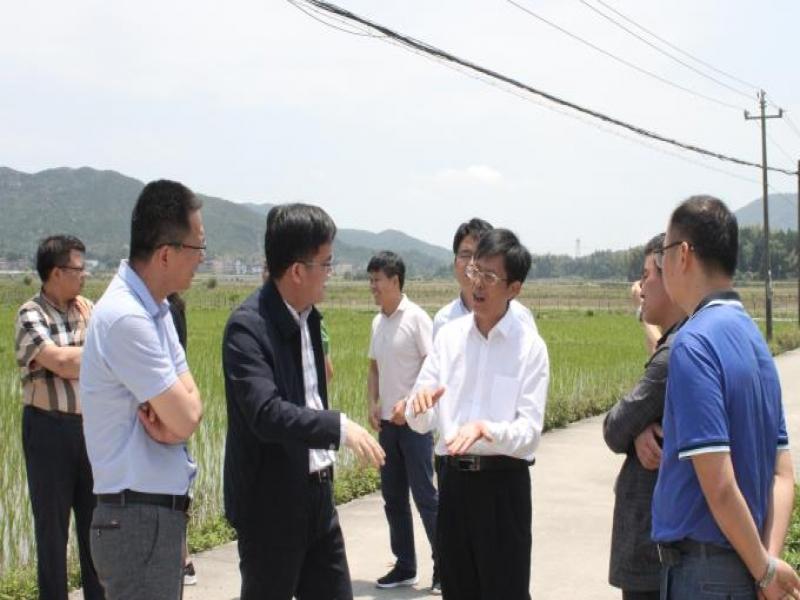 海南省农业农村厅副厅长赵咏望一行访问超大